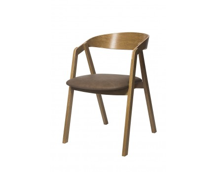 Design Holzstuhl Rome Eiche-P