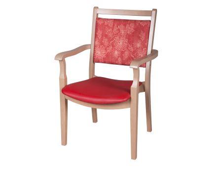 Seniorenstuhl, Pflegestuhl, Massivholz-Stuhl Olga